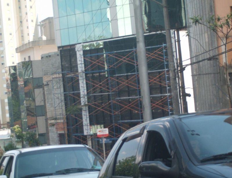 Aluguel de Andaimes no Ibirapuera - Andaime para Alugar