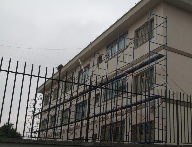 Aluguel de Andaimes Valores no Várzea do Palácio - Locação de Andaimes no ABC