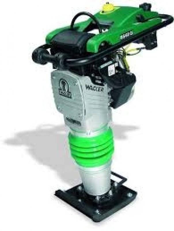 Aluguel de Compactador em Água Rasa - Locação Compactador Sapo Preço