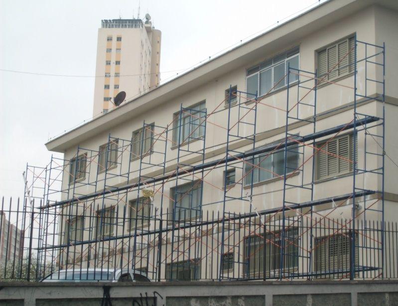 Andaimes para Aluguel na Vila Mariana - Locação de Andaimes