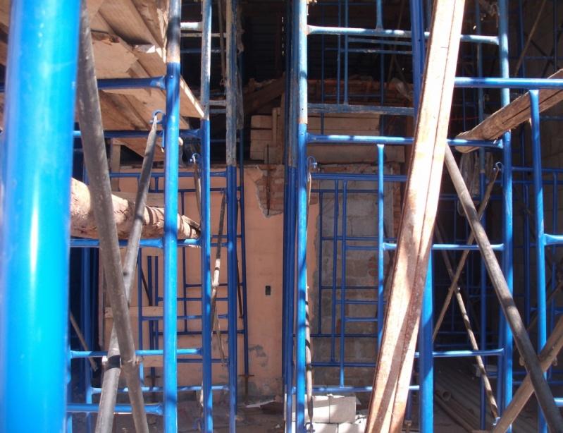 Escoramento de Construção Civil para Alugar em Mauá - Aluguel de Escora de Ferro