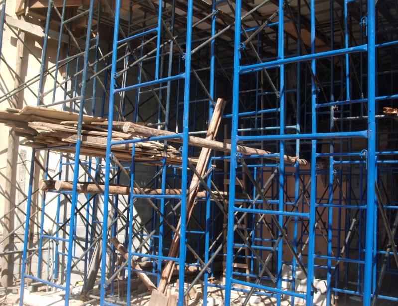 Escoramento Metálico para Alugar Preço em São Mateus - Locação de Escora Metálica