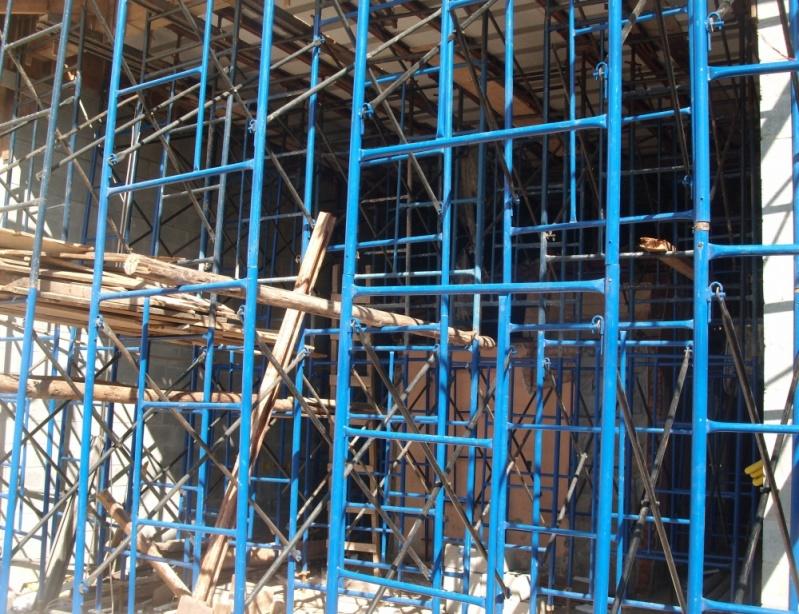 Escoramentos de Construção Civil para Alugar na Vila Gustavo - Locação de Escora Metálica