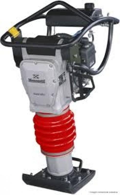Locação Compactador de Solo em Pinheiros - Locação Compactador Sapo Preço