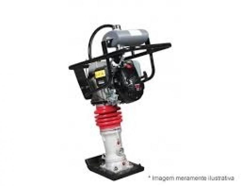 Locação Compactador de Solo Preço no Parque Continental - Locação Compactador Sapo