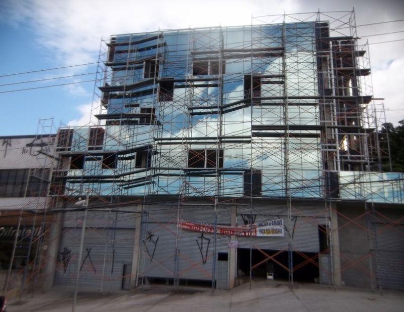 Locação de Andaimes Preço na Vila Matilde - Locação de Andaimes em Santo André