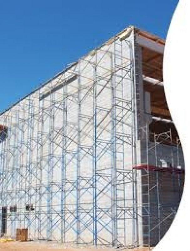 Preço Aluguel de Andaime na Vila Sônia - Locação de Andaimes SP