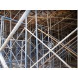 empresa de escoramento metálico para obra em Pinheiros