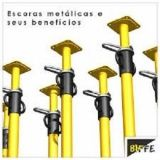 Valores Aluguel Escoras Metálicas em Brasilândia