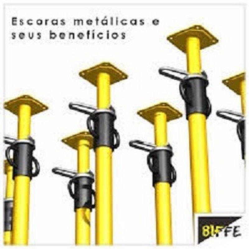 Valores Aluguel Escoras Metálicas no Imirim - Aluguel de Escoras em São Caetano
